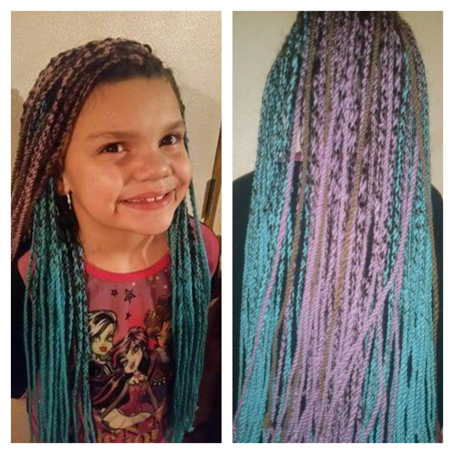 Diy Hair Extensions With Yarn - Diy (Do It Your Self)